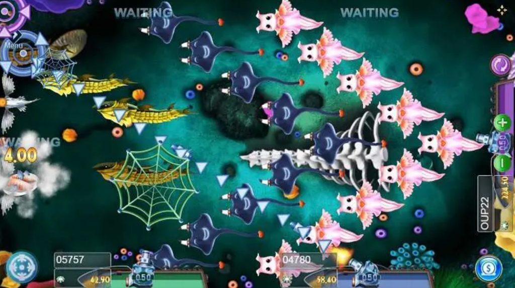 เกมยิงปลา FISH HUNTER SPONGEBOB เล่นพนันออนไลน์