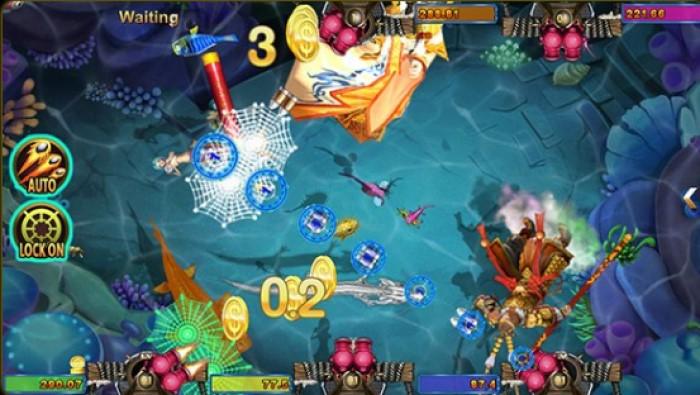 เกมยิงปลา Fish hunter da sheng nao hai เกมพนันออนไลน์